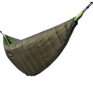Image 4 - Ultralight Outdoor Camping Hammock Underquilt Full Length Winter Warm Under Quilt Blanket Cotton Hammock 0 Degree (32) F