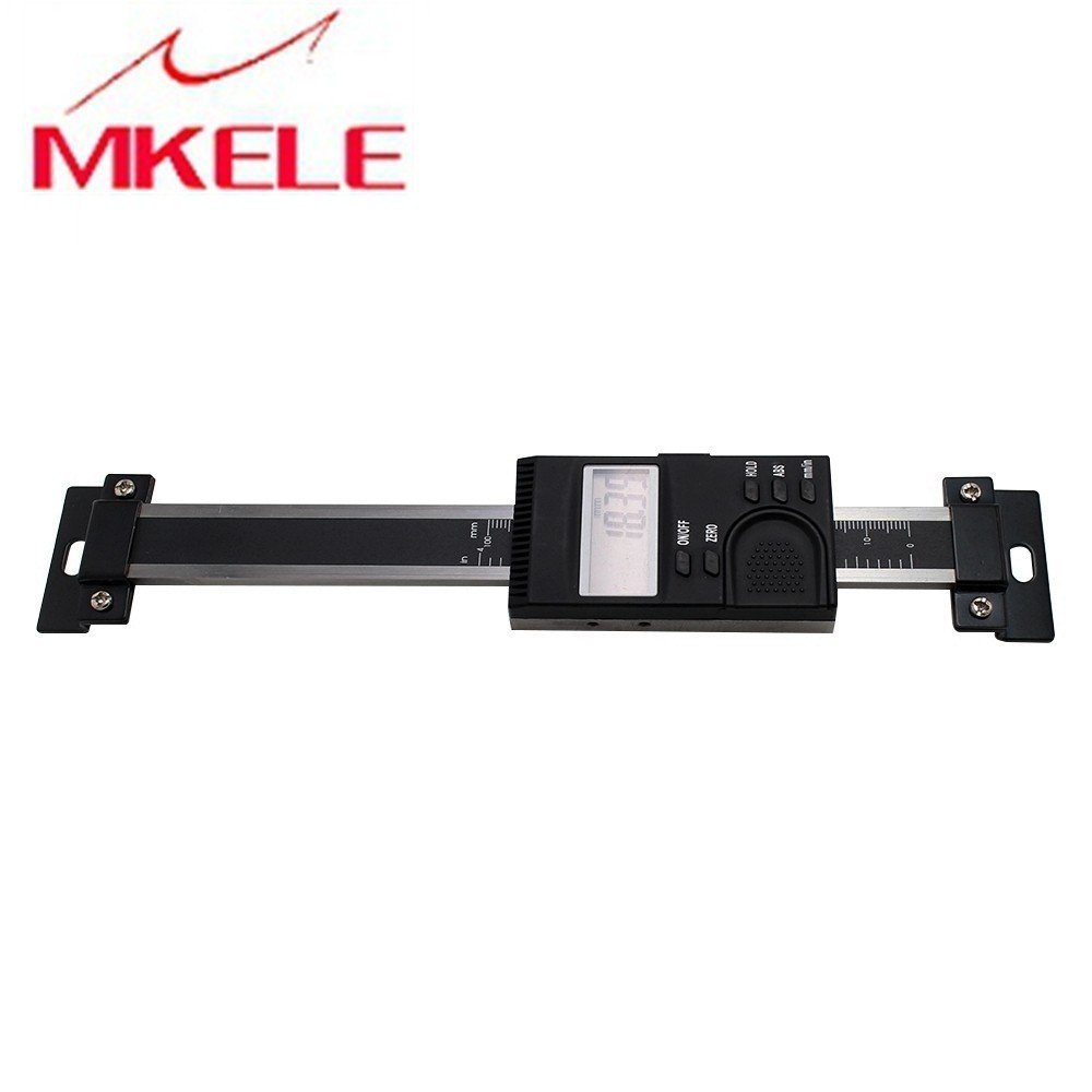 0 100mm DS100 V Vertical Aluminum Alloy Digital Scale Scale Linear Measure Linear Scale Of Milling High Accuracy Free Shipping in Level Measuring Instruments from Tools