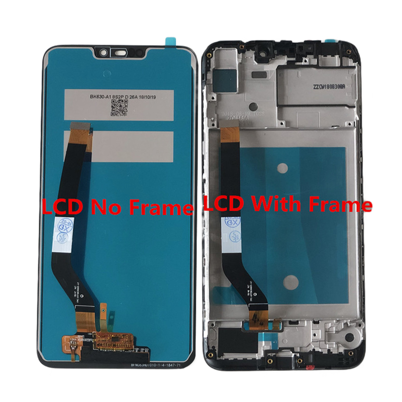 Image 3 - Original M&Sen For Huawei Honor 8C BKK AL10 LCD Display Screen With Frame+Touch Panel Digitizer For Honor 8C BKK L21 LCD Frame-in Mobile Phone LCD Screens from Cellphones & Telecommunications