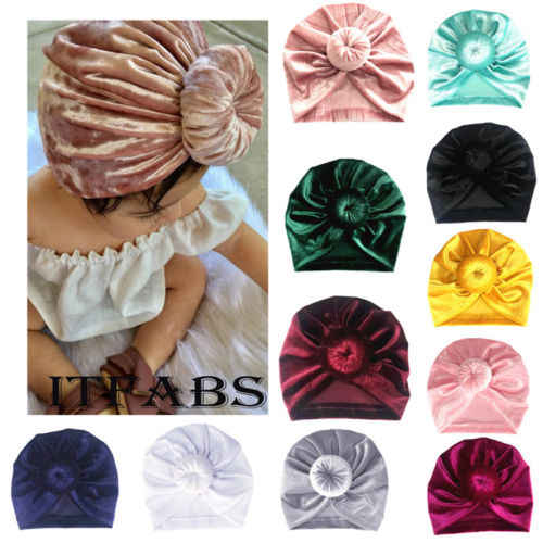 น่ารักเด็กวัยหัดเดินเด็กทารกเด็กทารกเด็กทารกกำมะหยี่ฤดูหนาวหมวกหมวก Beanie หมวกหมวกหมวก