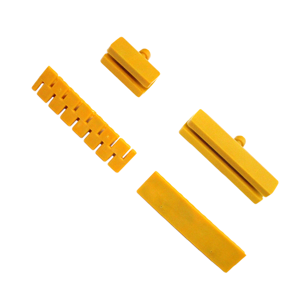Image 4 - 4 Pcs Auto Body Dent Repair Tool Auto Paintless Dent Repair Set for Car Dent Remover and Hail Damage Kit Yellow 50 100mm