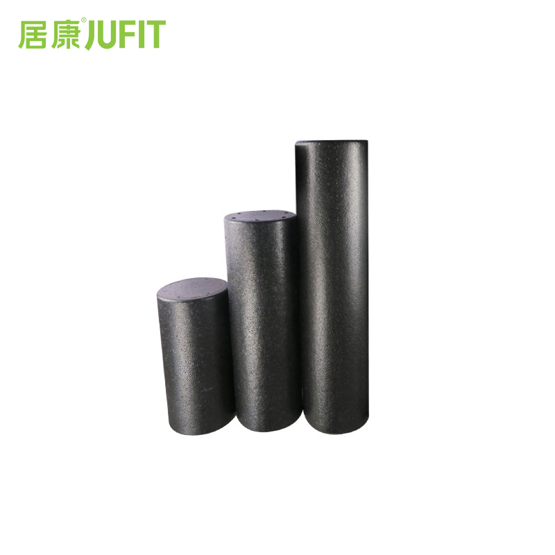 JUFIT 30cm 45cm 60cm Black Yoga Blocks EPP Foam Massage Roller Pilates Fitness Physiotherapy Rehabilitation