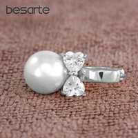 Genunie White Pearls Earrings For Women Oorbellen Boucle D'oreille Femme Bijoux Aretes Perlas Earings Gold Orecchini Donna E0310