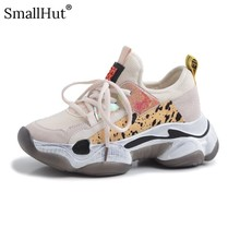 Women Flat Platform Sneakers HorseHair New Spring 2019 Ladies Lace up Casual Shoes Fashion Women Black Beige Leather Flats D028
