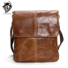 3241c3bb4fd4 Таурены пояса из натуральной кожи сумки на плечо мужская кожаная сумка  бренд повседневное Бизнес Мужская Сумка