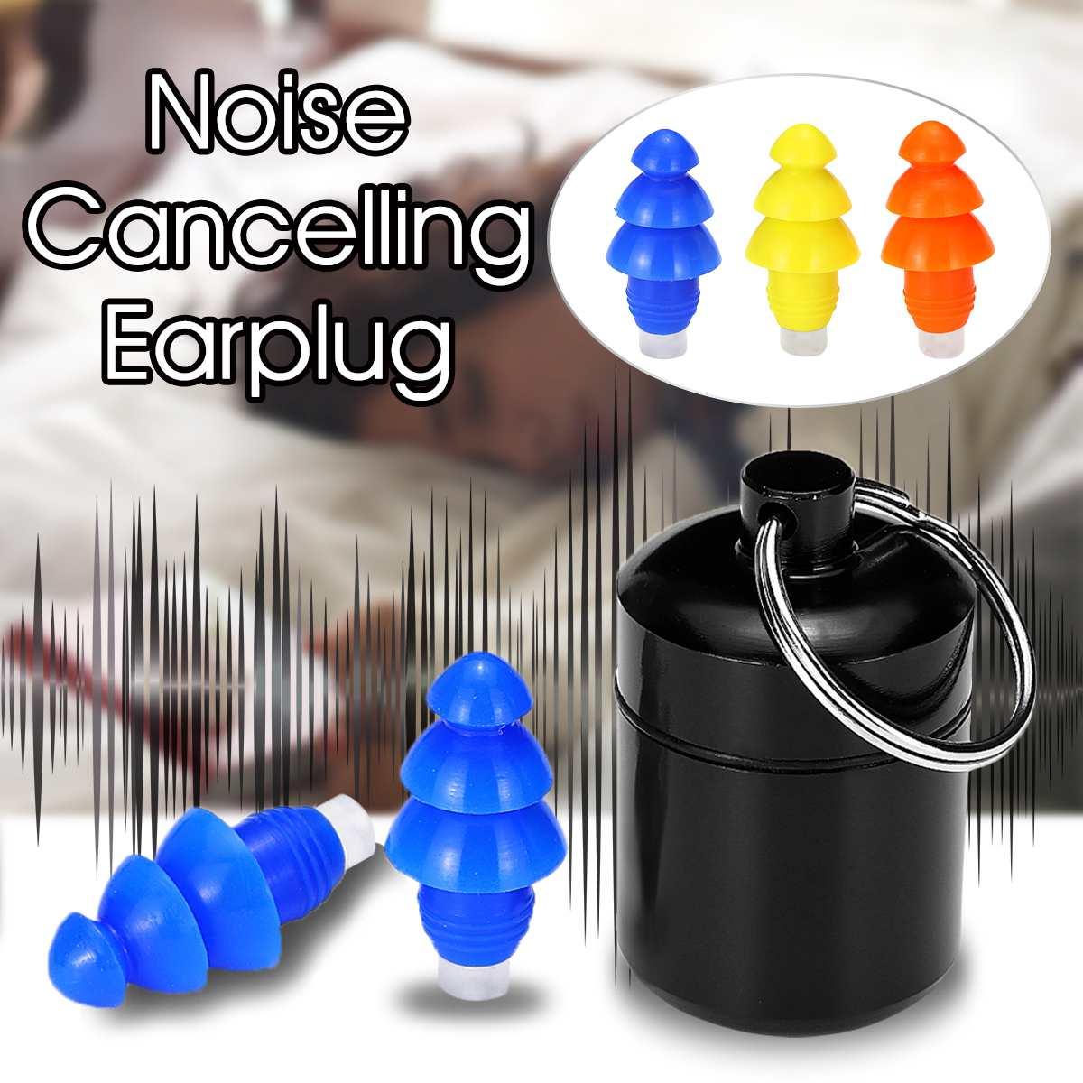 1 Paar 27db Weiche Silikon Noise Cancelling Ohrstöpsel Schwimmen Tauchen Anti-lärm Ohr Stecker Für Schlafen Gehörschutz Mit Box