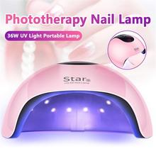 Get more info on the 36W UV Light Portable Lamp 12 Nail LED Curing Lamps Nail Dryer With 30s / 60s / 90s Timer For Gel Manicure