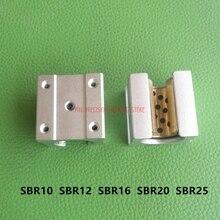 AXK 1 шт. Jdb твердый встроенный графитовый самосмазывающийся масляный подшипник медная оболочка Sbr10 Sbr12 Sbr16 Sbr20 Sbr25