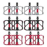 1 Pair Of Fashionable Mountain Bike Aluminum Alloy Bearing Pedal Durable Road Bicycle Ultralight Footrest Drop Shipping