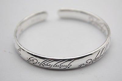 Bracelets & Bangles Jewelry & Accessories Intelligent Best Gift Real S999 Sterling Silver Bangle Women Letter Lucky Bracelet 55-58mm Excellent Quality
