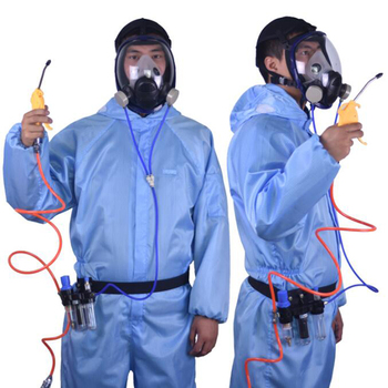 3 in 1 6800 Function Supplied Air Fed Industry Respirator System Full Face Gas Mask Respirator dust mask chemcial function supplied air fed safety respirator system with 6800 full face industry gas mask respirator