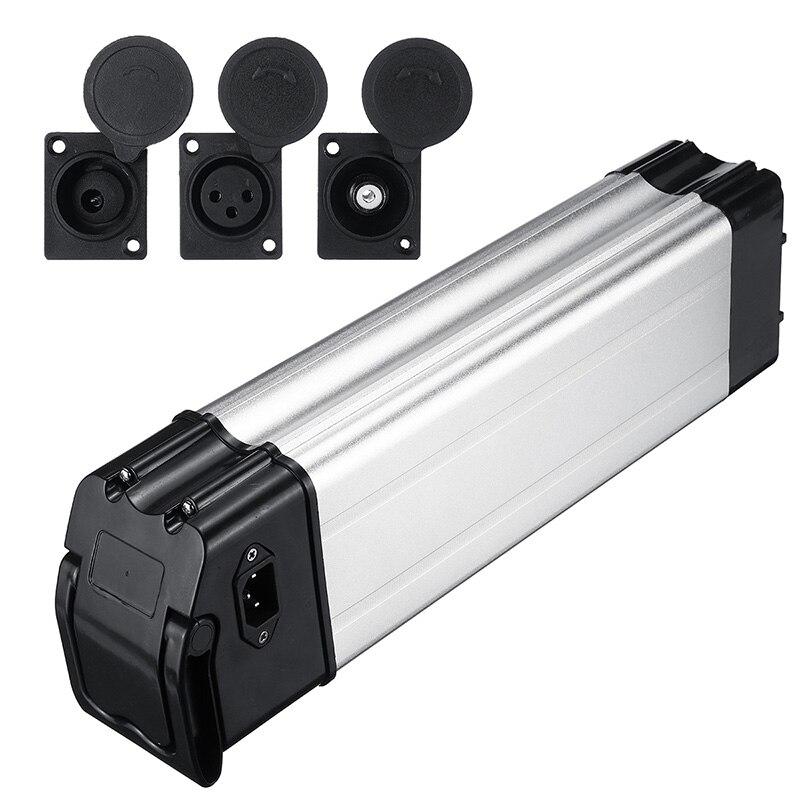 Voiture électrique vélo Lithium batterie boîte pliant vélo mer batterie boîtier en alliage d'aluminium coquille 18650 titulaire couverture 36/48 V - 2