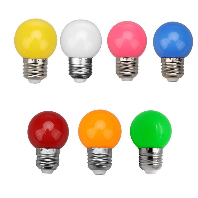 Colorful Globe Light Bulb E27 Led Bar Light 3W White Red Blue Green Yellow Orange Pink Lamp Light SMD 2835 Home Decor Lighting