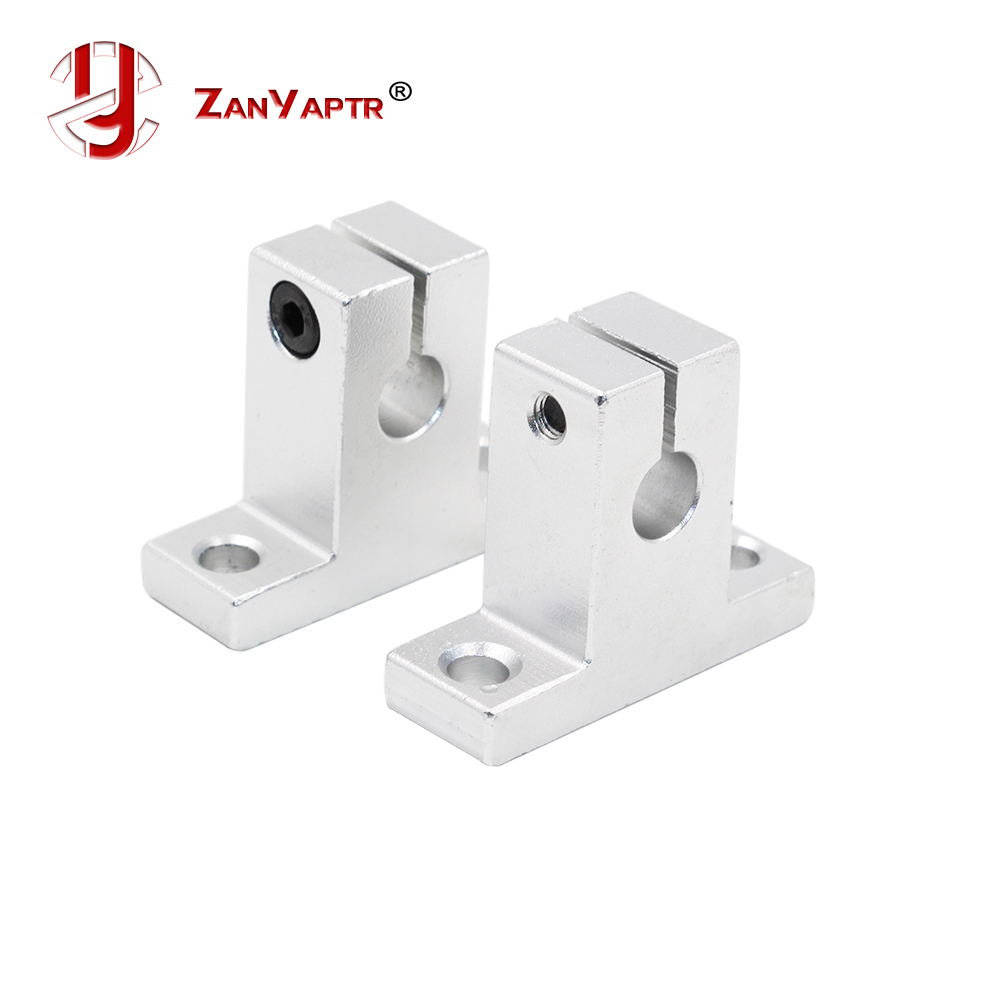 4PCS Linear Rail Shaft 8mm SK8 SH8A Linear Rail Shaft Support XYZ Table CNC And For 3D Printer Sliding Table