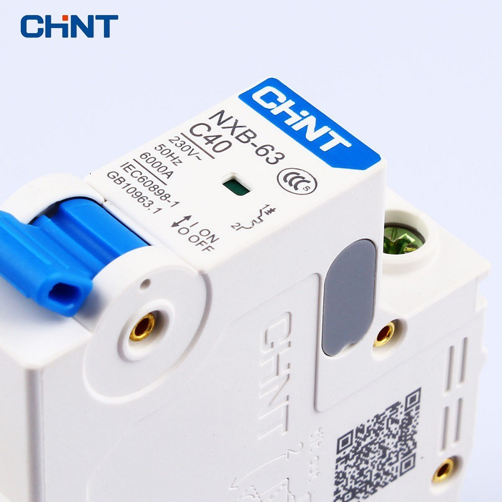 CHINT CHNT Miniature Circuit Breaker C Type NXB 63 1P 2A 230V 50HZ Household Air Switch MCB New DZ47 in Circuit Breakers from Home Improvement