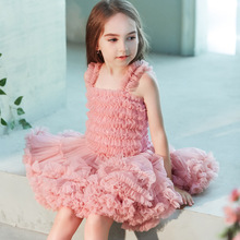 Princess Kids Baby Fancy Wedding Dress Sleeveles Sequins Party Dresses for Girls Elegant