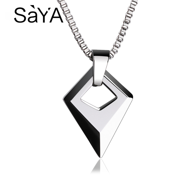 5897b49c3e1d0 US $25.27 |Hot Selling Man Jewelry High Polished Tungsten Carbide Pendants  With 2.0 Titanium Steel Necklace 50cm Length Male Pendant-in Pendants from  ...