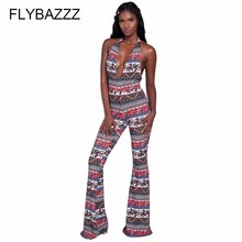 Sexy Hollow Out Bodysuit Fitness Playsuit Print Backless Women Jumpsuit Tank Romper Womens Yoga Pants Combinaison Femme