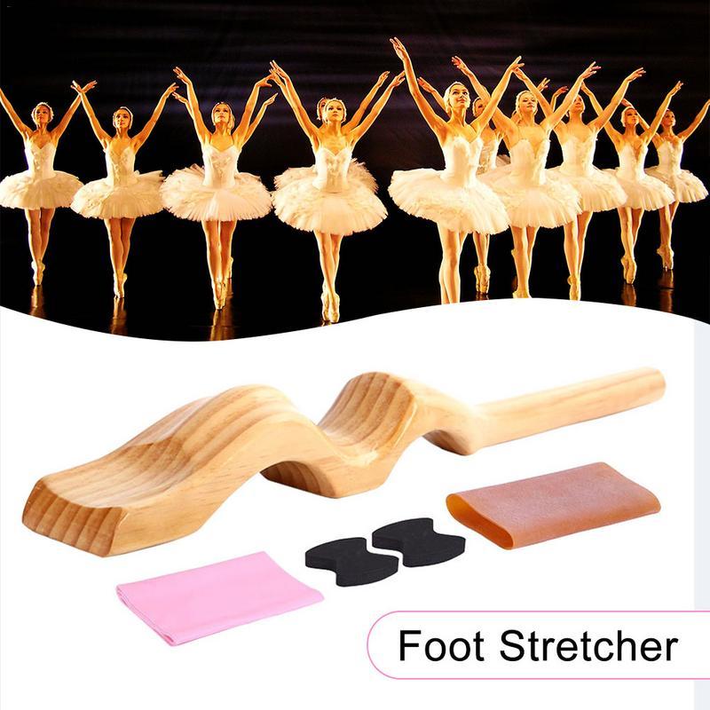 Балетки носилки ноги деревянная арка Enhancer упругой пены Pad для гимнастики танцор устройства подъеме профессиональные аксессуары для балета