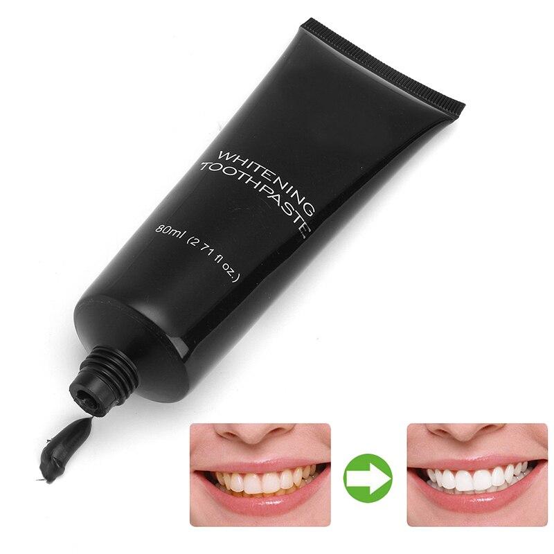 Зубная паста 120 г, уход за зубами, Бамбуковая натуральная активированная древесина, отбеливающая гигиена полости рта зубной пасты