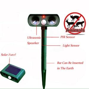 Cat Dog Animal Repeller Solar