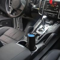 Vehicle Air Purifier Mini Auto Car Fresh Air Anion Ionic Purifier Oxygen Bar Ozone Ionizer Interior Accessories