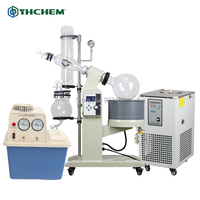 YHChem Turnkey Solution 5L Rotary Vacuum Evaporator with Chiller and Vacuum Pump