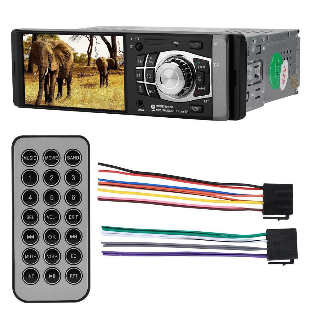 Tragbares Audio & Video Hd 4in 320*240 Bluetooth Auto Mp5 Player Audio Radio Rückansicht Kamera Player Auf Verkauf Schrumpffrei