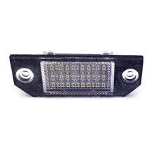 12 В/24 в пост светодиодный номерного знака светильник автомобильные аксессуары номерной знак лампы пластины светильник снаружи для Ford Focus