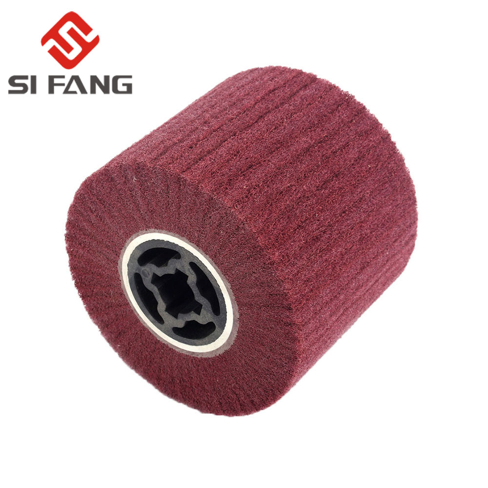 1Pc Wire Drawing Wheel Stainless Steel Cleaning Wheel Special Metal Grinding Wheel For Nylon Wheel And Wire Drawing Machine