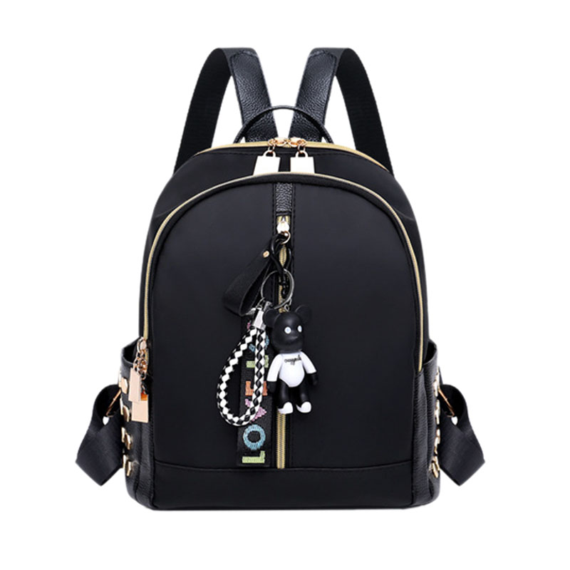 BEAU-Leisure Oxford Backpack Women Backpack Female For School In Korean Style Backpack Female