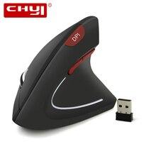 2,4 ГГц Беспроводная мышь эргономичная Вертикальная оптическая USB игровая мышь 5 кнопок 1600 dpi компьютерная мышь с коврик для мыши для ноутбука