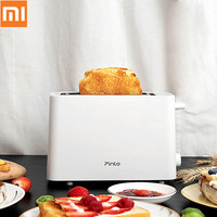 New Xiaomi Pinlo Electric Bread Toaster Stainless Steel Bread Baking Maker Machine for Sandwich Kitchen Toast from xiaomi Youpin