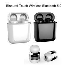 Mini Wireless Bluetooth 5.0 In-Ear Touch Control Double Mic Earphone Headset new