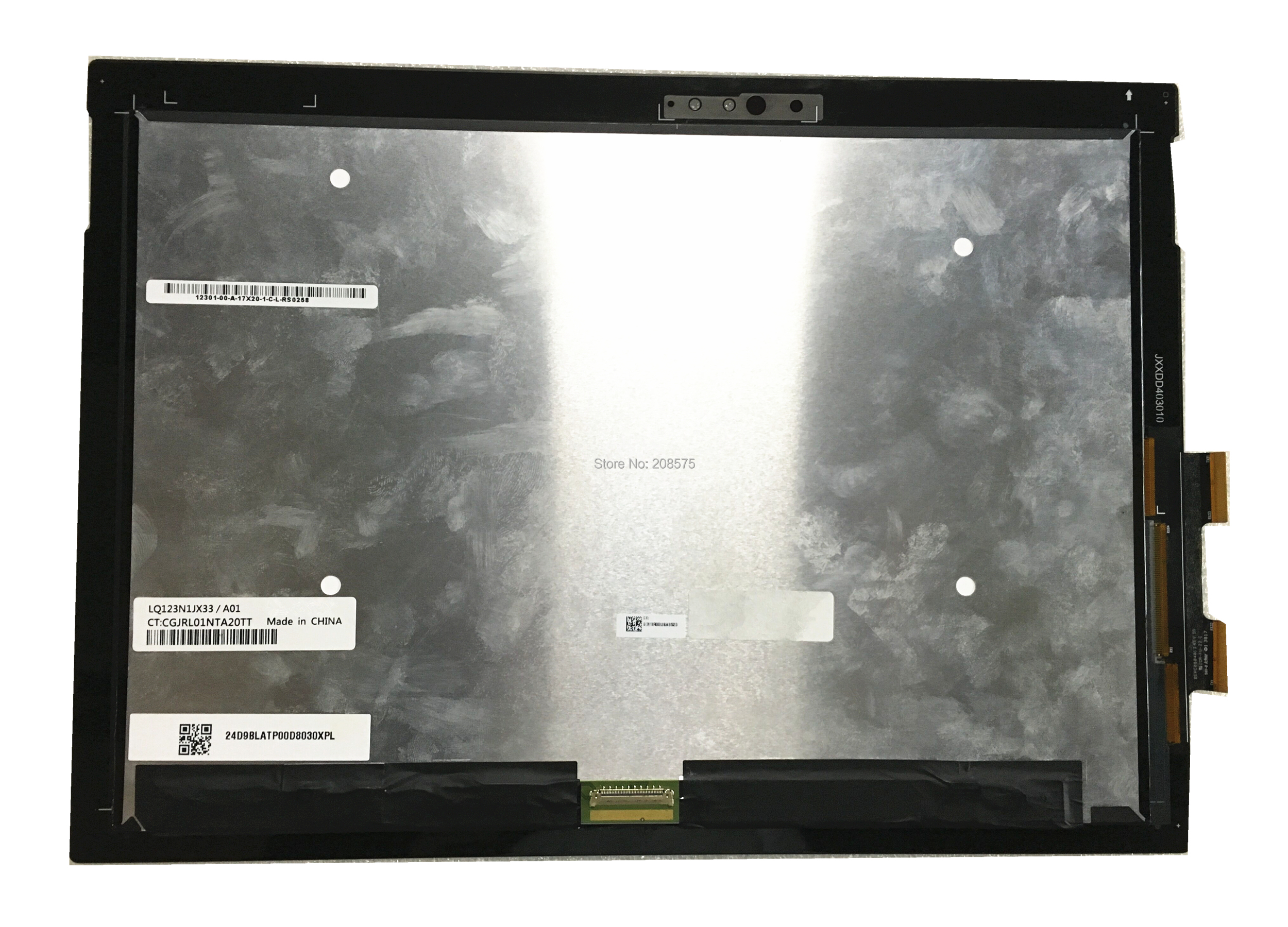 Free shipping 12.3''inch Lcd Screen Assembly LQ123N1JX33/A01 LQ123N1JX33 A01 for HP touch digitizer Assembly CT: CGJRL01NTA20TT 10 1 high quality hsd101pww2 a01 lcd screen for archos 101 xs2 1280 x 800 in stock free shipping