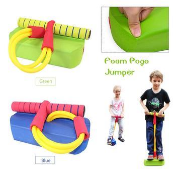 Flybar Foam Pogo Jumper dla dzieci zabawa i bezpieczne Pogo Stick dla małych dzieci trwała pianka i Bungee Jumper dla dzieci zabawki prezent tanie i dobre opinie