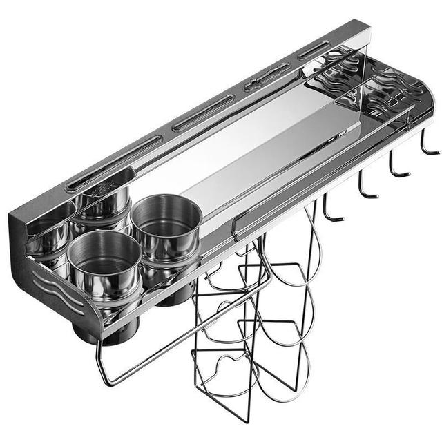 Organisateur Almacenamiento Dish Organizer Nevera Accessories Stainless Steel Cocina Organizador Cozinha Mutfak Kitchen Rack