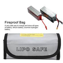 Fireproof Bag LiPo Battery Explosion-Proof Safety Bags Pouch Charging Protection Sack Lightweight and portable(China)