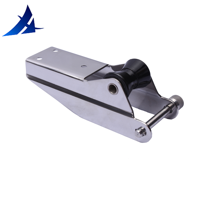 Stainless Steel 316 Bow Anchor Roller - Fixed Boat/Marine 7-3/4