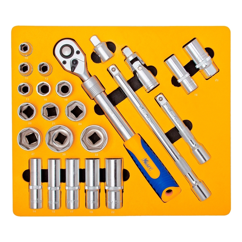 Hand tool set KRAFT 700616 CT 24 items