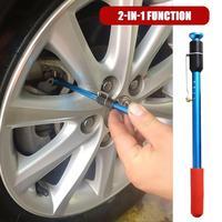 Almofada de freio do carro caneta detecção medidor de espessura ferramenta medição pneu passo medidor de profundidade|Sapatas e pastilhas de freio| |  -