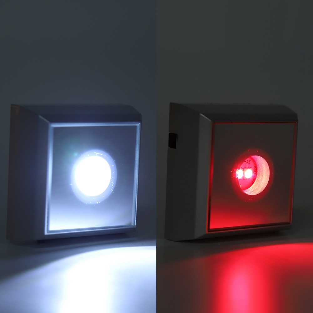 2 Types LED Square Lamp Base Stand Holder White Or Colorful Lighting For Crystal Acrylic Statue Artware Display Silver
