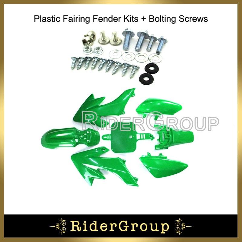6mm Fairing Plastics Bolts Set  50cc 110cc 125cc 140cc PIT PRO TRAIL DIRT BIKE