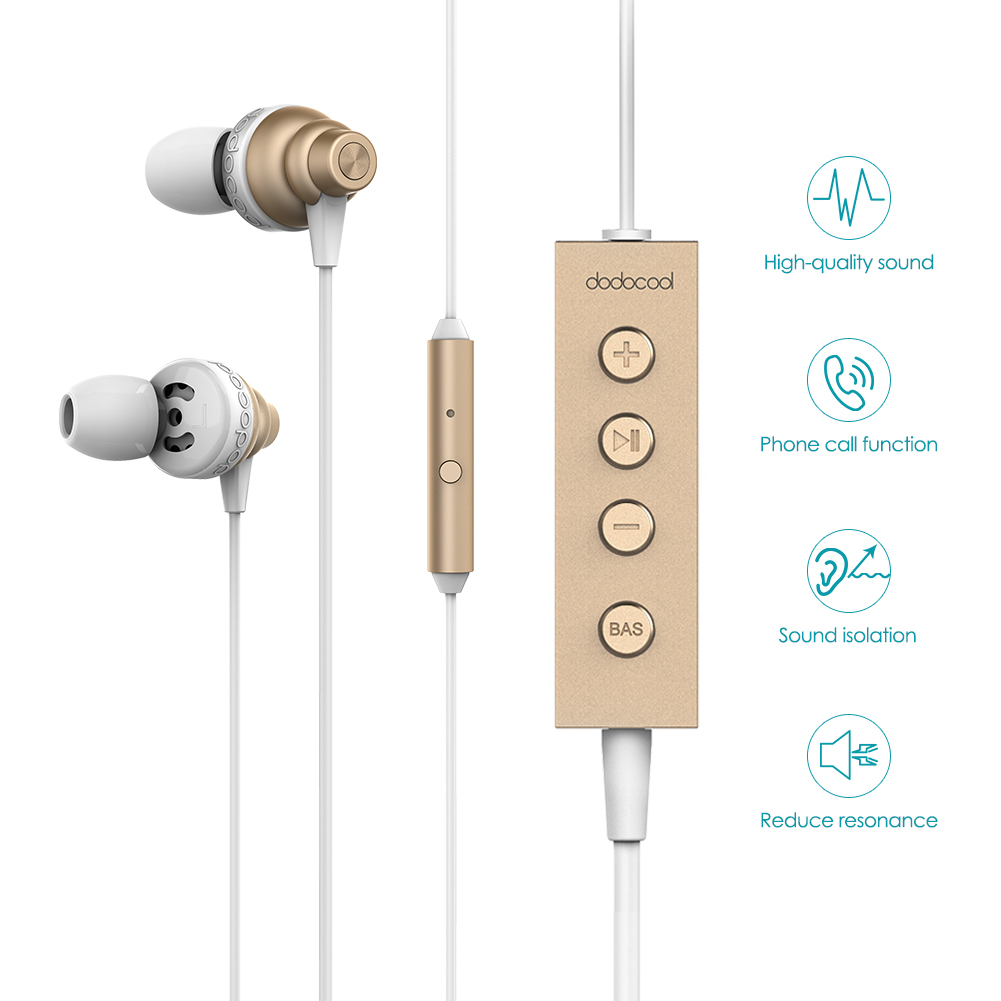 dodocool MFi Hi Res Audio Earphone Stereo Lightning Earphone with Mic 24 bit High Resolution Audio for iPhone X iphone 8 7 ipad