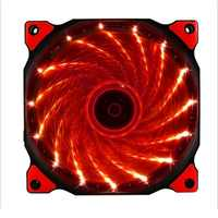 120mm PC computer Ultra Silent LED cooling fan radiator radiator, 12CM fan, 12VDC 3P IDE 4pin