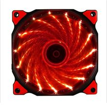 120mm PC computer Ultra Silent LED cooling fan radiator radiator, 12CM fan, 12VDC 3P IDE 4pin(China)