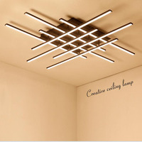 Luz de Teto moderno Acrílico Ferro Criativo Lâmpada Luminária Sala de estar Sala de Jantar Escritório Lâmpada LED Simples Luxo|Luzes de teto| |  -