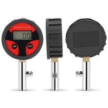 Digital Tire Pressure Gauge with Tyre Valve and Caps for Easy Testing Tools and Reading 0-200PSI New Hot(China)