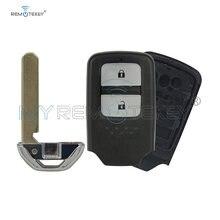 Чехол для смарт ключей remtekey с аварийным ключом 2 кнопки