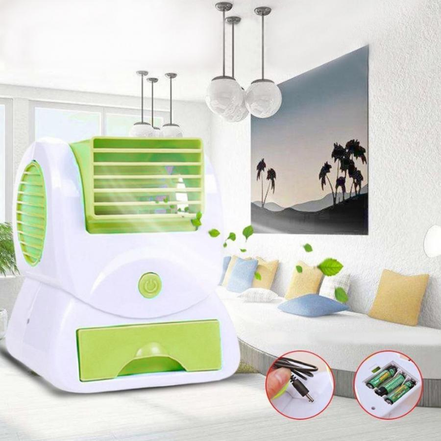 Mini Cooling Fan Usb Battery Desktop Air Fan Operated